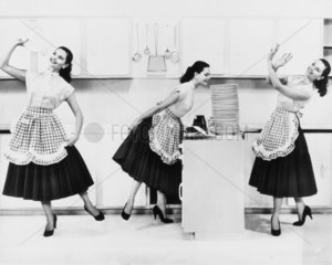 Washing-up liquid advertisement  1950s.