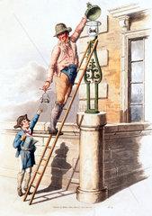 'Lamp lighter'  1805.