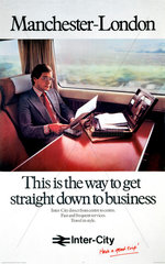'Manchester-London - This is the Way to get Straight Down to Business'  1979.