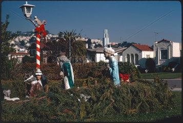 Christmas  San Fransisco  1971.