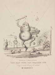 'The Man with the Weather Eye'  1840s.