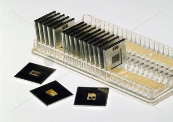 Slides produced using a Minox camera  c 1958.