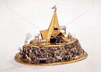 Saxon mine model  Slovakian  c 1700.