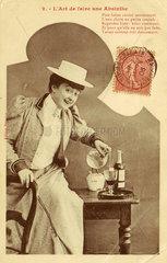 'The Art of Making an Absinthe'  c 1900.