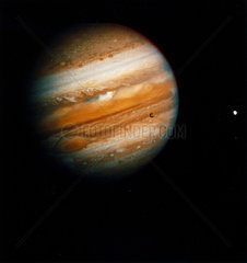 The planet Jupiter  photographed by Voyager 2  1979.