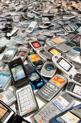 Dead Ringers exhibition  mobile phones.