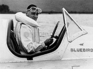Sir Malcolm Campbell  English sportman and racer  10 June 1937.