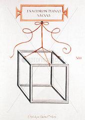 Da Vinci's Cube  1509.