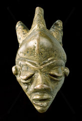 Amulet in the form of a face  Zaire.