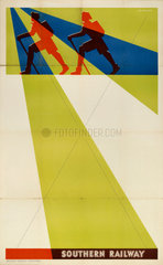 Southern Railway stock poster  1923-1947.