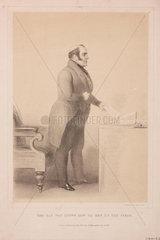 George Hudson  English railway chairman  1845.