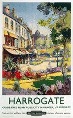 'Harrogate'  BR poster  1957.