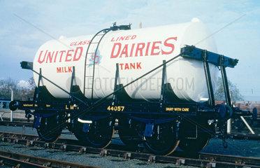 Unigate Dairies LMS milk tank wagon  no ADW