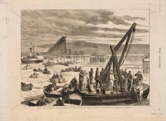 The Tay Bridge Disaster  Scotland  28 December 1879.
