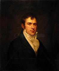 Robert Fulton  American artist and inventor  c 1800.