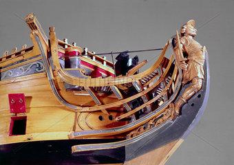 HMS 'Achilles'  1757.