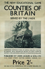 'Counties of Britain'  LNER poster  1923-1947.