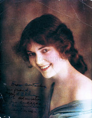 Portrait of a young woman  1912.