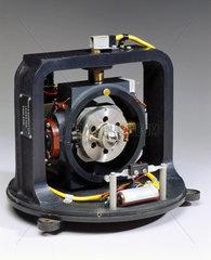 Flight spare gyroscope unit from the Black Arrow R2 launcher  1970.