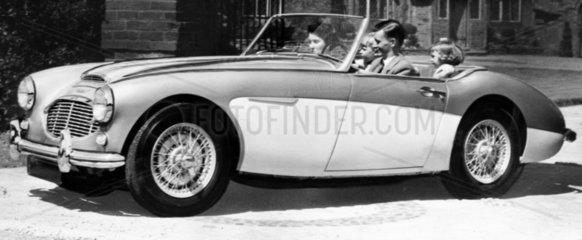 Austin Healey '100' Six  October 1956.