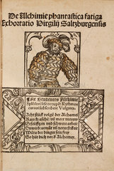 Epigram to a medieval German work on mineralogy and alchemy  1518.