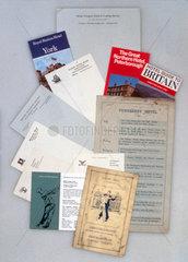 Various railway hotel brochures  ranging fr