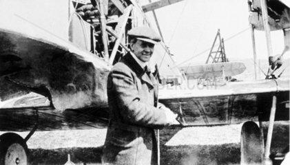 Lieutenant Arthur Whitten-Brown British aviator  June 1919.