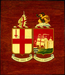 Coat of arms of the Great Western Railway.