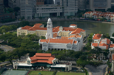 Singapur  Republik Singapur  Victoria Theater und die Victoria Konzerthalle