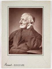 Cardinal Newman  c 1885.