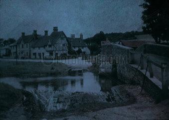 'A Kentish Village'  c 1912-1915.