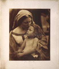 'La Beata' by Julia Margaret Cameron  1865.