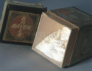 Soluble aspirin powder  c 1900.