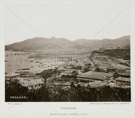 Nagasaki  Japan  1888.