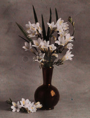 'Vase of Freesias'  c 1910-1915.