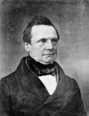 Charles Babbage  British mathematician and computing pioneer  1843.