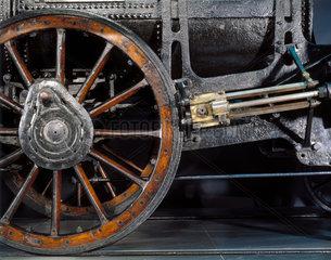 Detail of Stephenson's 'Rocket'  1829.