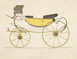 High perch sociable barouche carriage  1816.