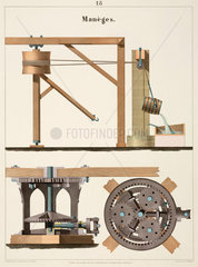 Rotational pulley  1856.