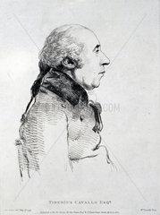 Tiberius Cavallo  Italian chemist and philosopher  1799.