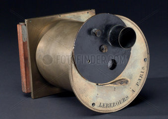 All metal camera designed by Gaudin  c 1845.