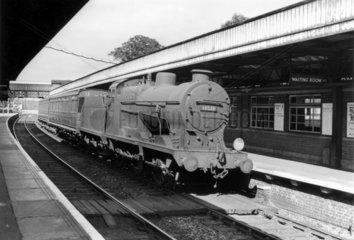 British Railways Q class locomotive at