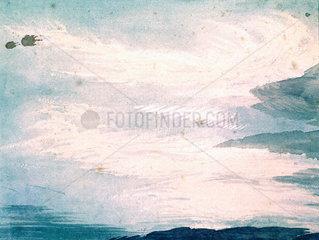 Cloud study by Luke Howard  c 1808-1811.