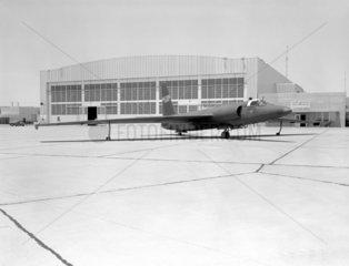 U-2 spy plane with fictitious NASA markings  California  6 May 1960.