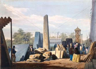 Coals etc at the Great Exhibition  Crystal Palace  London  1851.