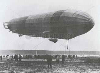 Zeppelin LZ 10 'Schwaben' airship  the first successful Zeppelin  c 1911.