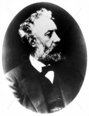 Jules Verne  French author  late 19th century.