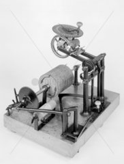 Hood typewriter  c1857 Produced in 1857