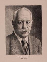 Arnold Sommerfeld  German physicist  c 1930.