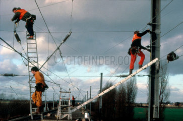 Pan Train at Overton  10 January 1989.